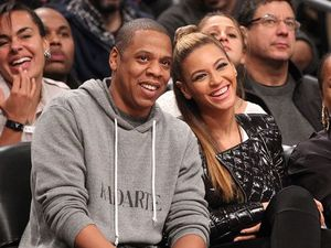 Beyonce and Jay Z were 'all business' on stage