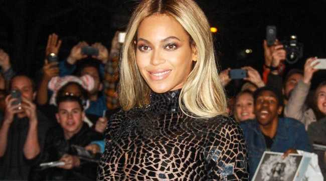 Beyonce works had to get her body back in shape after giving birth.