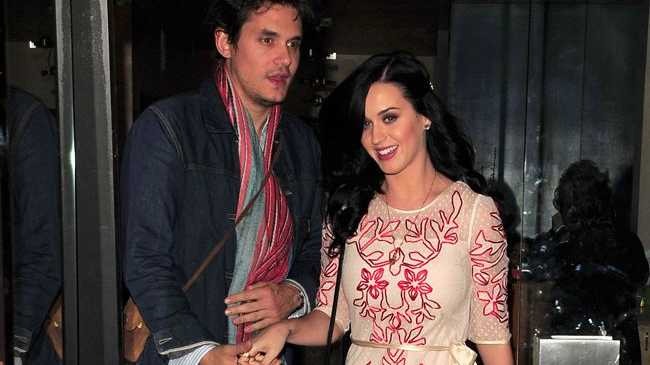 Katy Perry and John Mayer were serenaded by Steve Nicks.