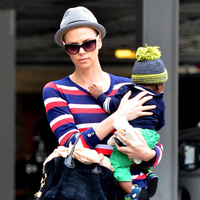 Monster star Charlize Theron says she would like her son to have a brother or a sister.