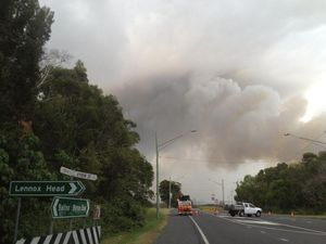 Backburning operations to continue at Lennox Head tonight