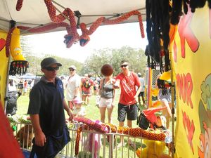 Sawtell shines on New Year's Day with traditional Fun Day