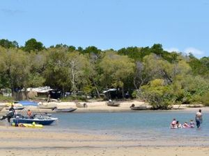 Inskip Point has Christmas and New Year campsites left