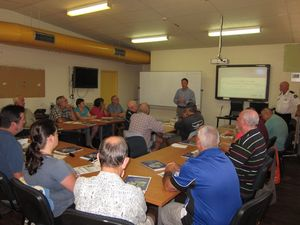 Volunteer wardens train in radio and disaster management