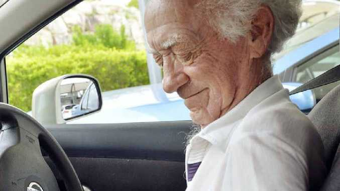 TOUGHER RULES: Graham Kelly, 81, is happy to have annual medical checks to keep his driver's licence.