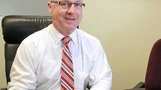 LOOKING FORWARD: Mayor Mark Jamieson speaks about the year ahead.
