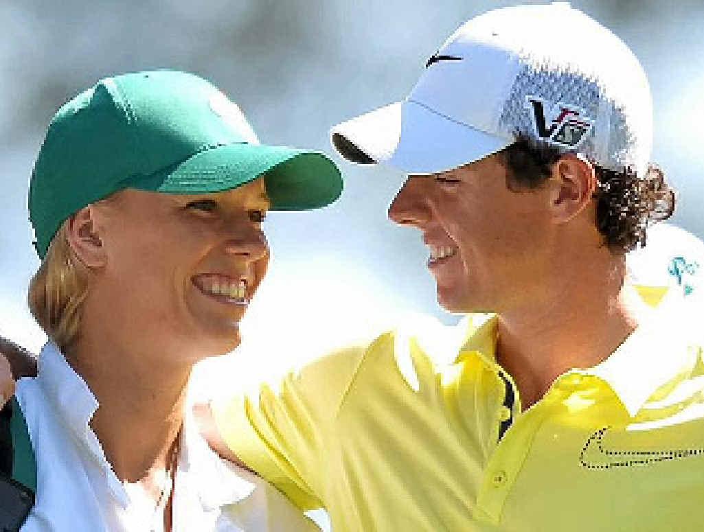Rory McIlroy and Caroline Wozniacki.