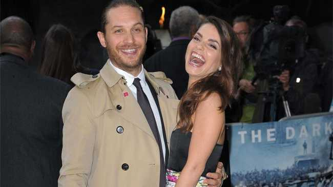 Inception star Tom Hardy.