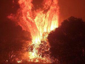 Relief for Straddie fire crews