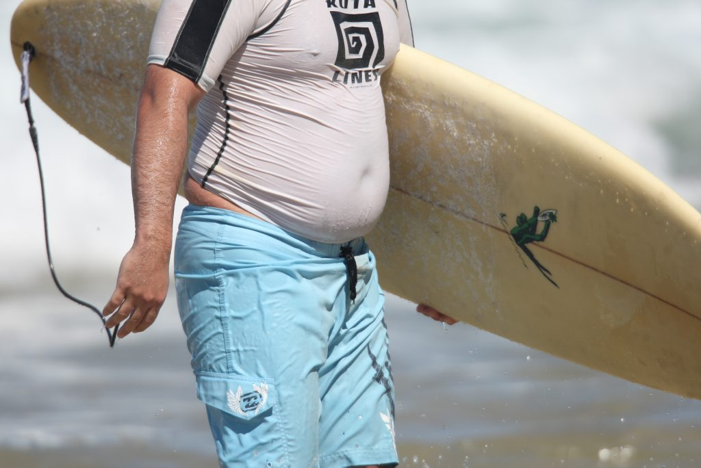 There's a lot more involved than just beer when it comes to a beer belly.