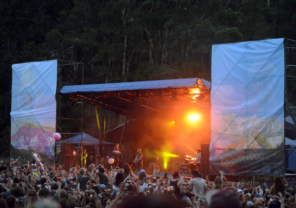 Rufus at The Falls Festival. Photo Patrick Gorbunovs/ The Northern Star
