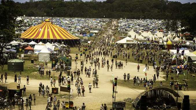 Falls Music and Arts Festival at North Byron Parkland has finished.