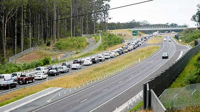 BUMPER TO BUMPER: Delays are expected on the Pacific Highway this weekend as holiday makers return home after the Christmas/New Year break.