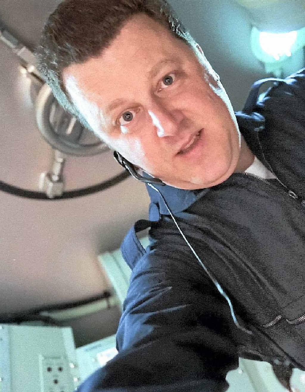 Mars One candidate Paul Leeming.