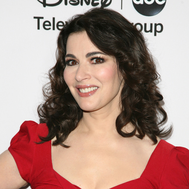 Nigella Lawson says she has never been interested in the partying lifestyle.