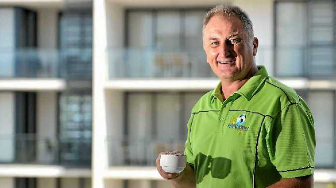 Central Queensland director of coaching and CQ Mariners technical director Joe Fenech.