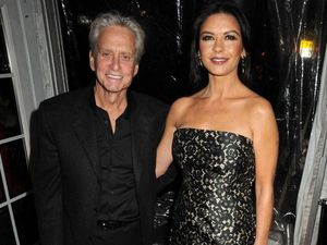 Catherine Zeta-Jones and Michael Douglas reunited