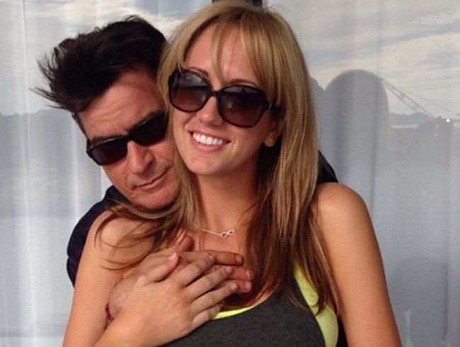 Charlie Sheen and Brett Rossi would like to have kids.