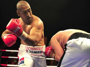 Leapai sets sights on April world heavyweight title fight