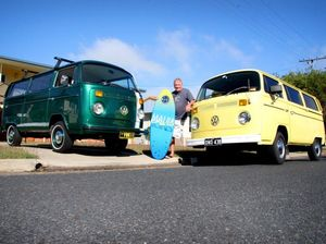 Sad day for duo as last Kombi rolls off production line