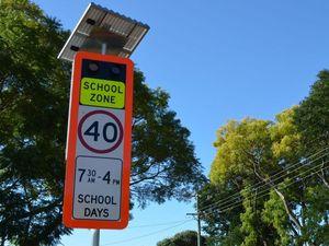 Glenwood now has flashing lights in school zone