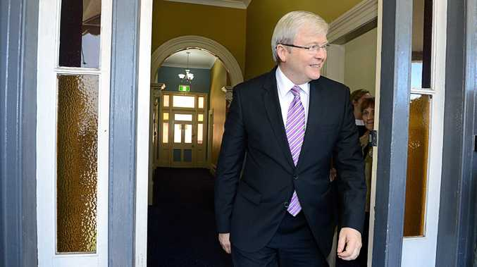 Former Prime Minister Kevin Rudd reveals he could have leaked information about the infamous 2010 leadership coup.