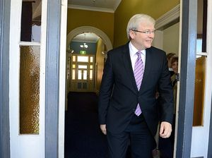Rudd admits 2010 leadership leak 'possibly' his own doing