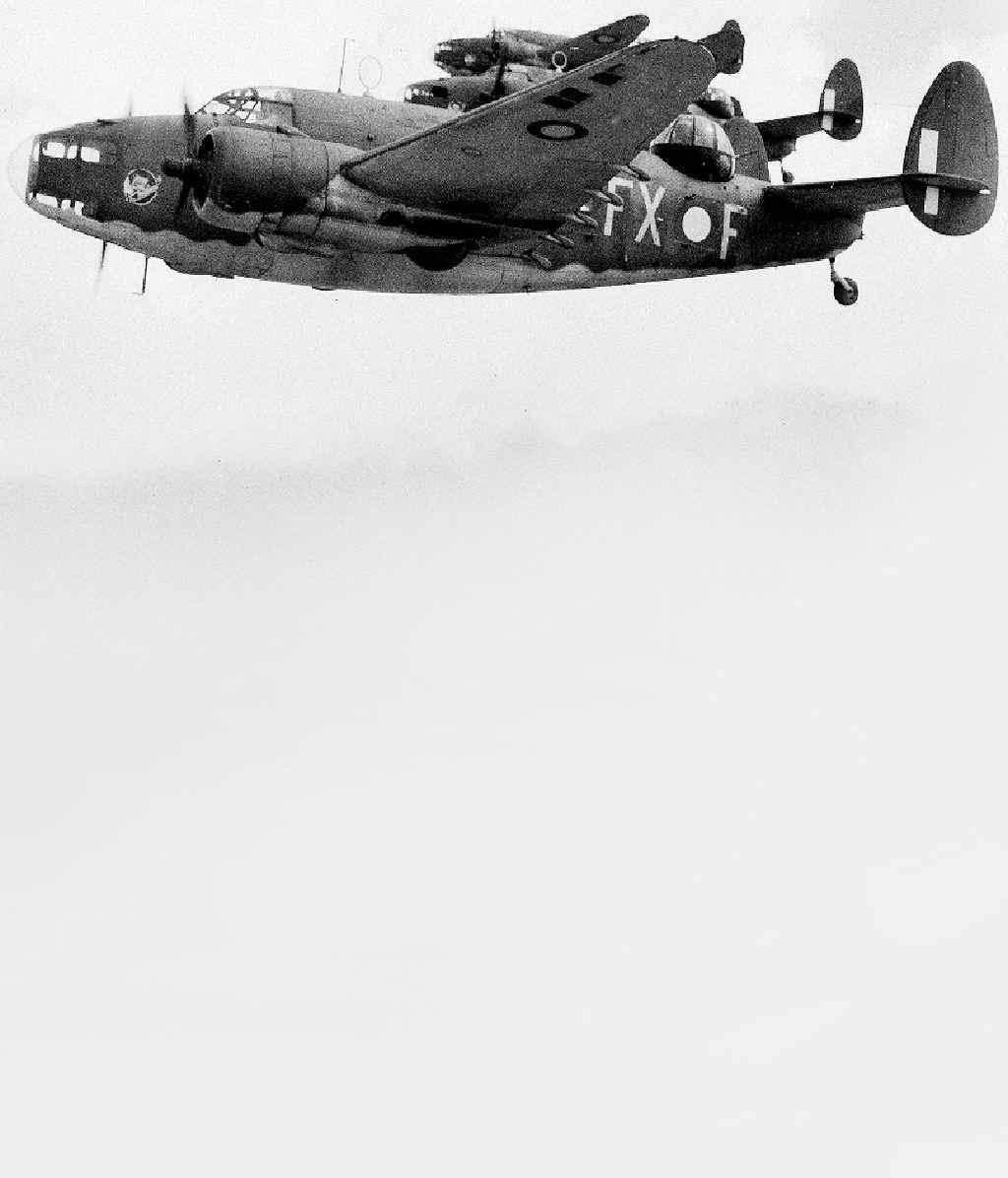 IN LINE: RAAF Lockheed Hudson bombers.