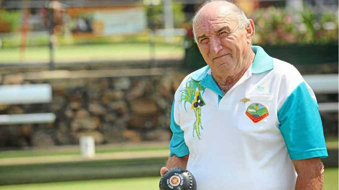 HONOURED: Rex Thorogood has recently become a life member of the Nambour Bowls Club.