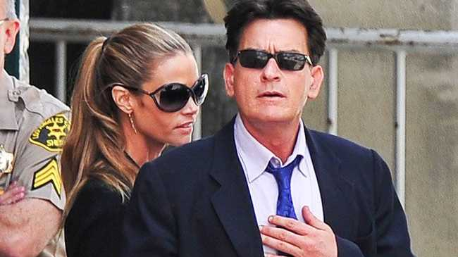 Reports Charlie Sheen will evict ex-wife Denise Richards from the home she lives in which he owns.