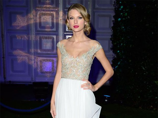 Taylor swift cops the brush-off.