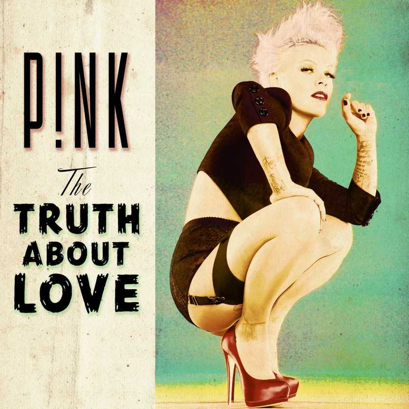 Pink on to a winner with her album The Truth About Love.