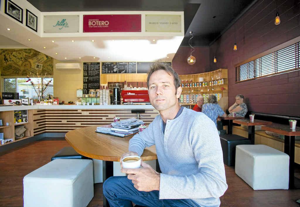BIG PLANS: Danny Young of Espresso Botero. Photo: Adam Hourigan