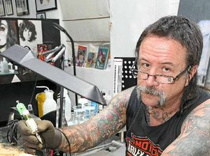 New tattoo licencing threatens Rebels bikie parlour owner