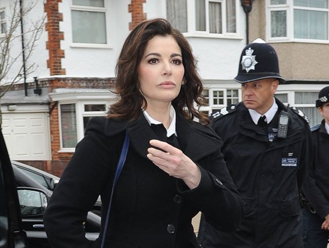 Fromer aides think celebrity chef Nigella Lawson is brave.