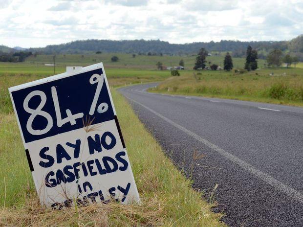 Locals say no to gas.