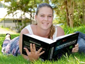 Scholarship buys Kelsey's books so she can stay in region