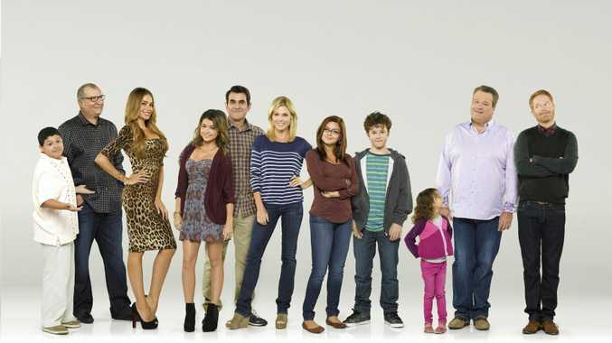 Modern Family's Emmy Award-winning cast.
