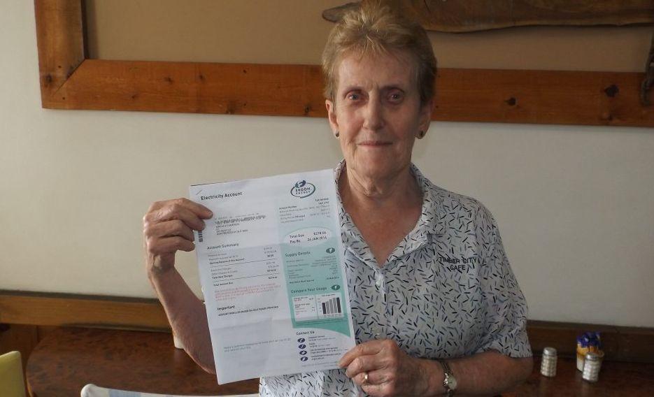 Ann Cameron was overcharged by Ergon Energy.