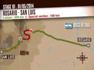 Iveco Dakar 2014 - 1st stage