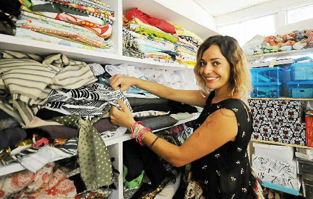 GRAND DESIGNS: Mia Brennan of Mimi Designs will feature at Australian Indigenous Fashion Week.