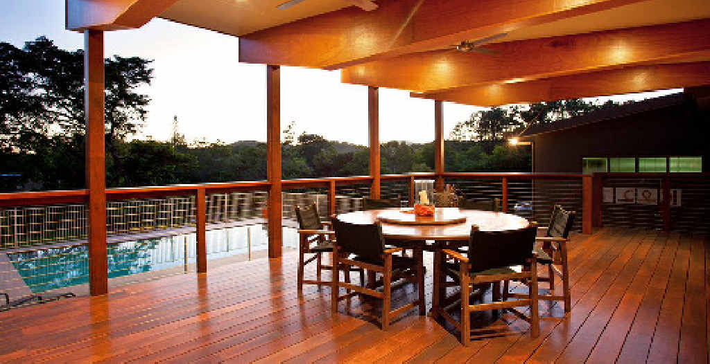 MONEY'S WORTH: Two homes in Rural View sold for over $1 million, including this one, which had a spacious deck.