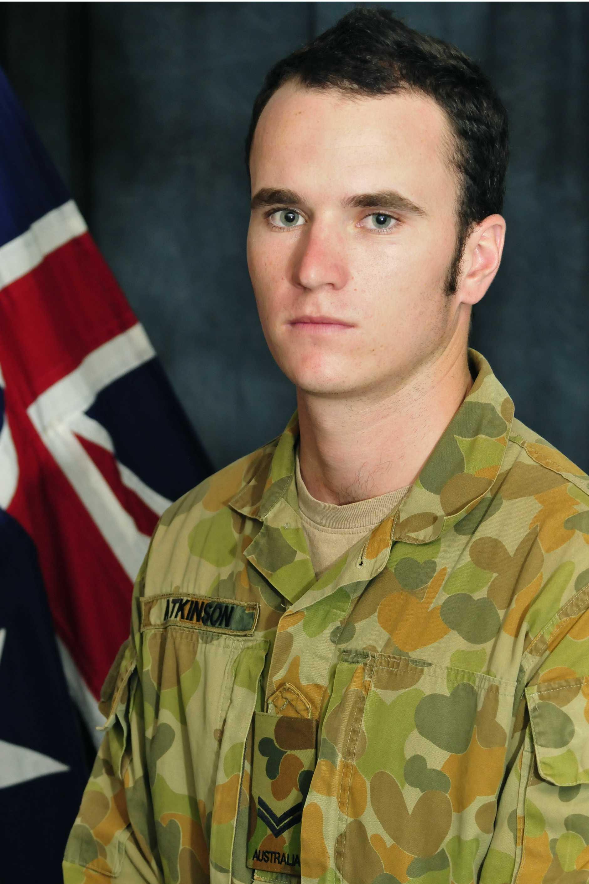 Corporal Richard 'Akka' Atkinson.