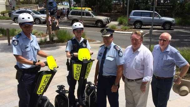 Queensland Police Service will trial segways at Noosa.