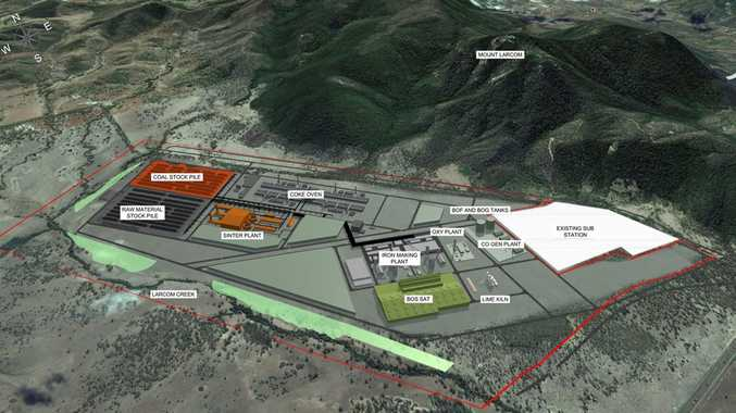 Plans for the Boulder Steel development in Gladstone.