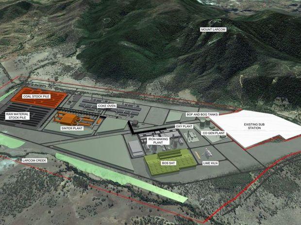 Plans for the Boulder Steel development in Gladstone.