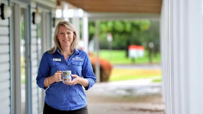 Gladstone and Boyne and Tannum Visitor Information Centre co-ordinator Lynette Spencer.