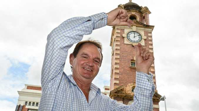IT'S TIME: Mayor Paul Pisasale is keen for daylight saving in south-east Queensland.