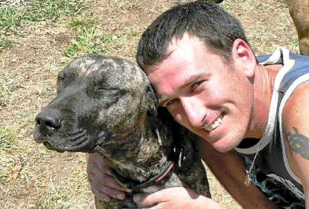 Heath Robertson has been reunited with his lost best mate after 18 months.