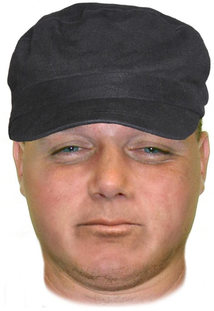 Police have released this comfit of a man wanted over a hold up outside the Kawana Waters Hotel.